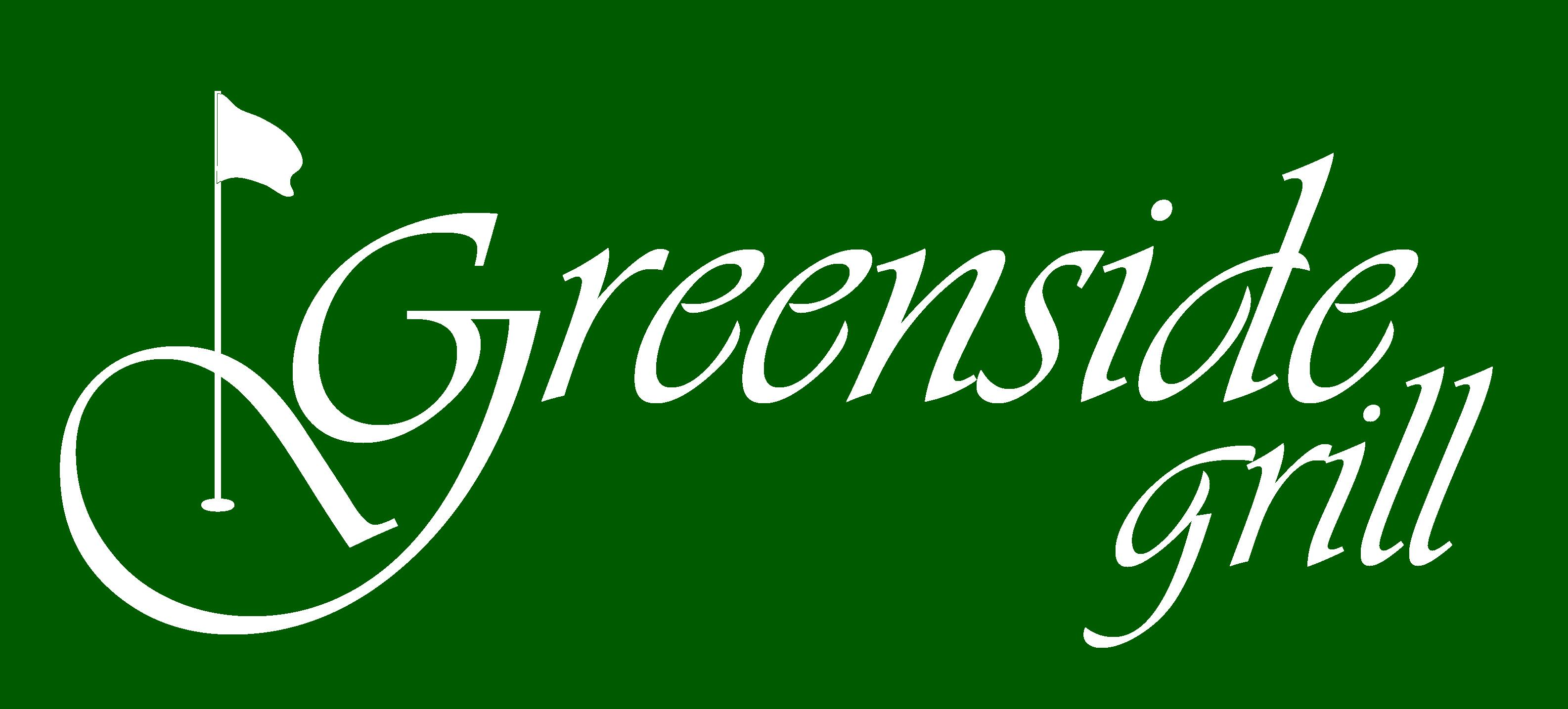 GreensideGrill-logo-White-on-Green