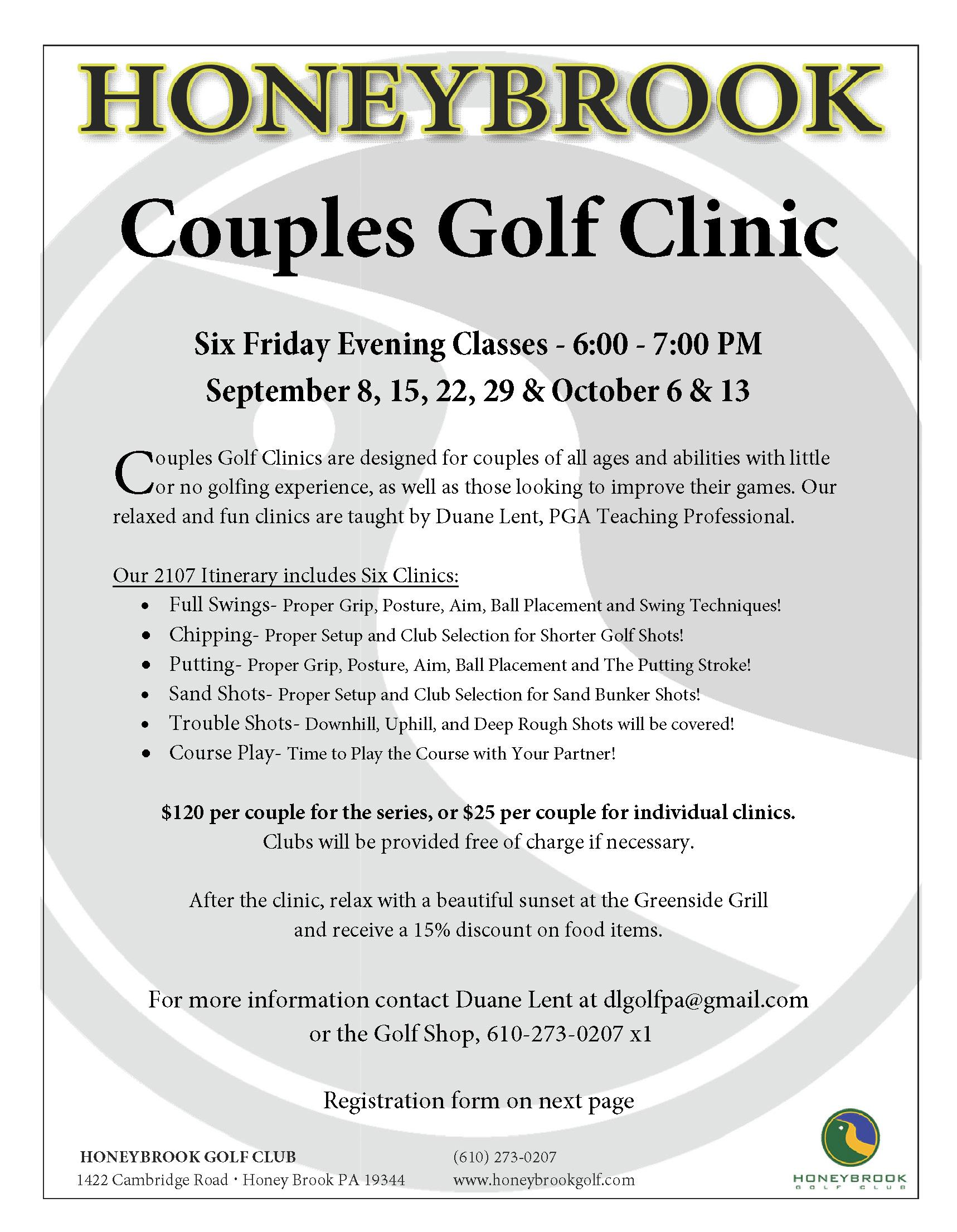 2017 Couples Golf Clinic Page 1