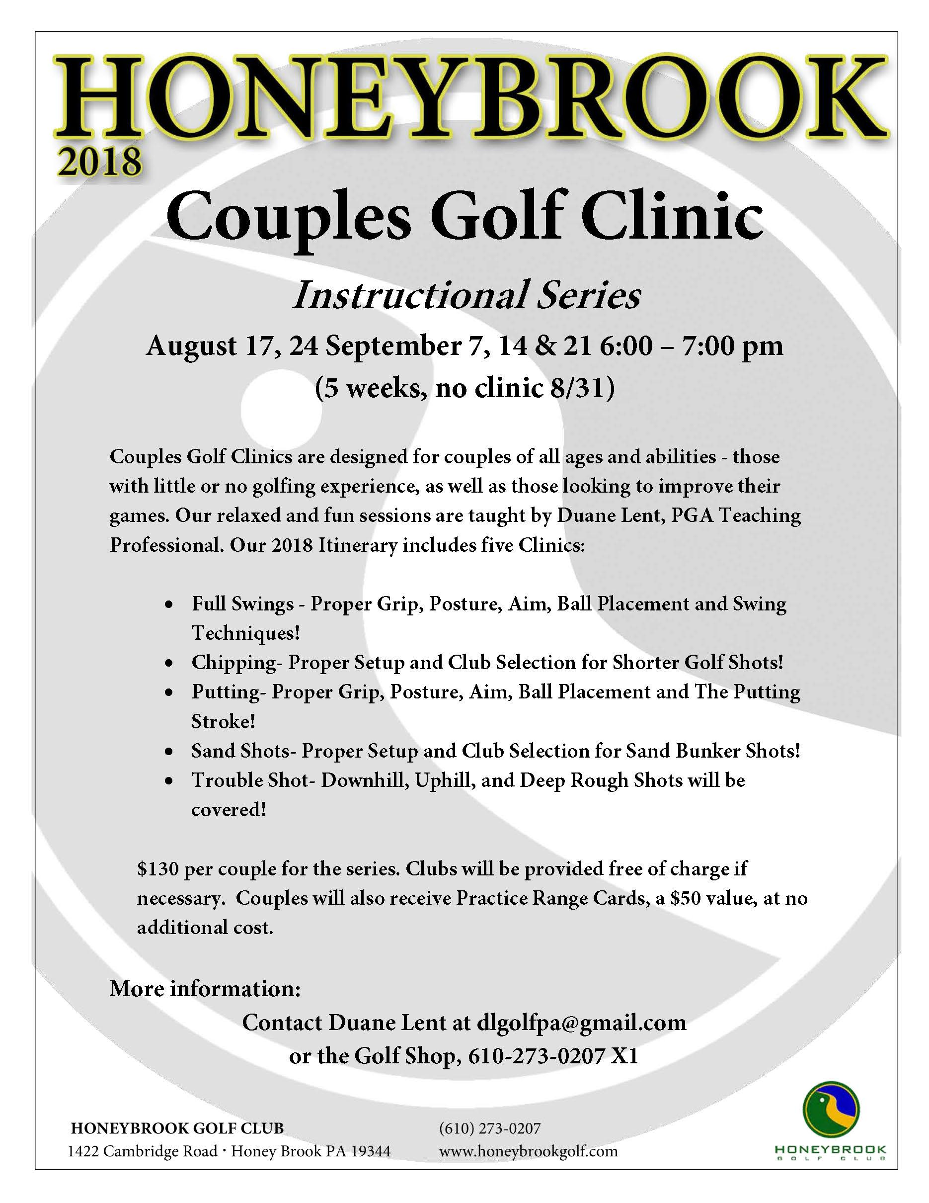 2018 Couples Golf Clinic Page 1
