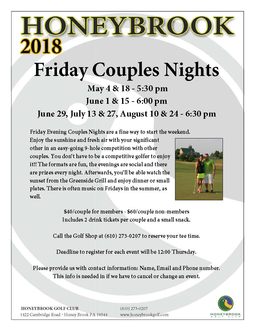 2018 Couples Nights
