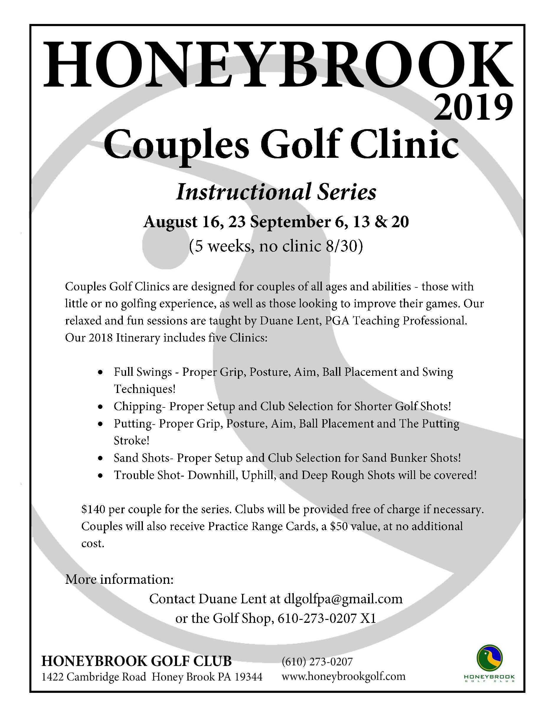 2019 Couples Golf Clinic Page 1
