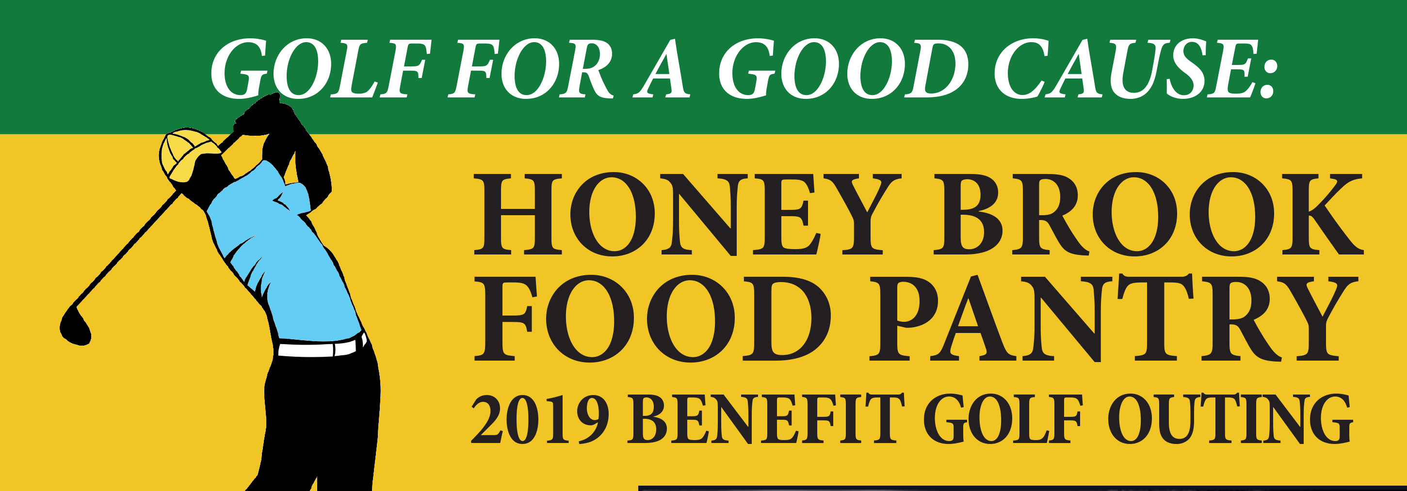 Honey Brook Food Pantry Golf Outing