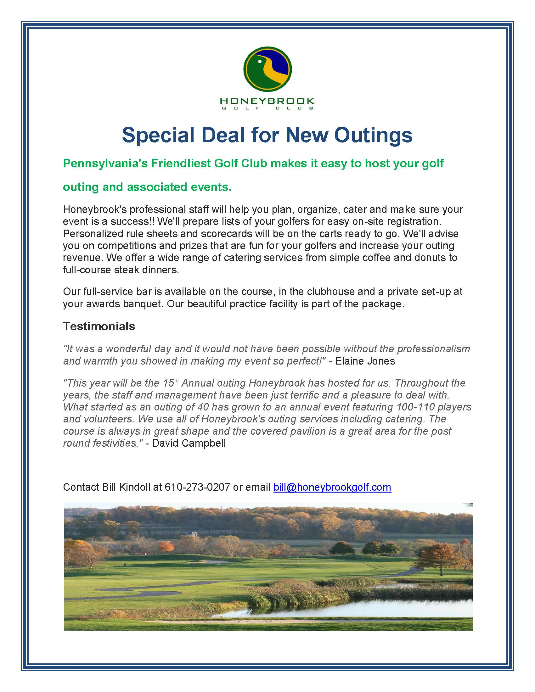 Special New Outing Deal Page 1